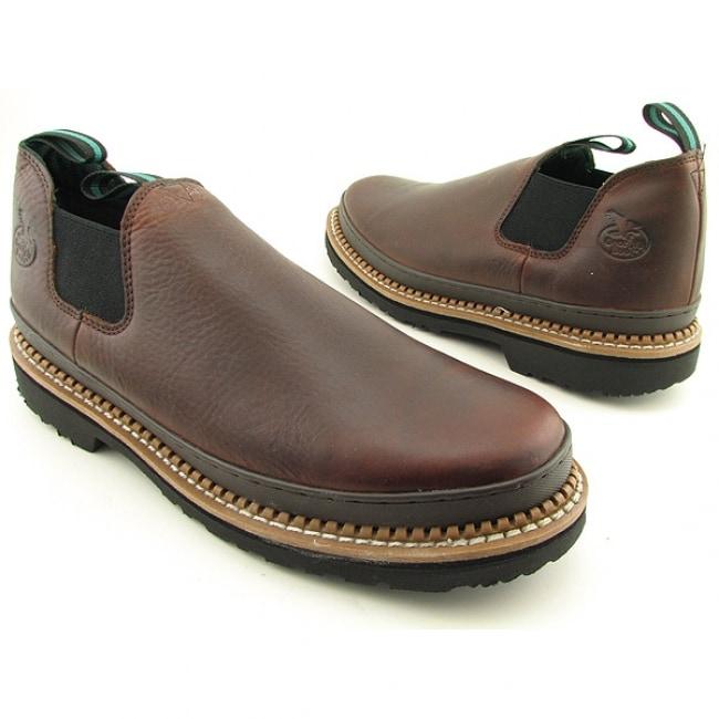 Georgia Men's 'Romeo Giant' Brown Occupational Work Boots