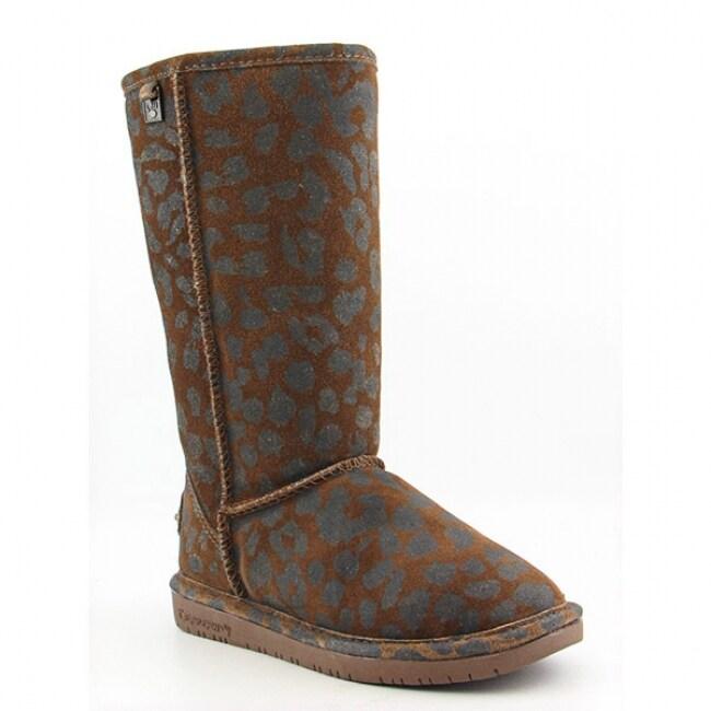 Bearpaw Women's 'Mara' Brown Cognac Black Boots Snow Shoes