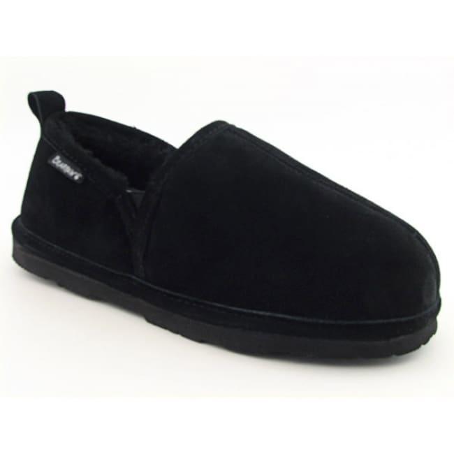 Bearpaw Men's 'Romeo II' Black Slippers Shoes