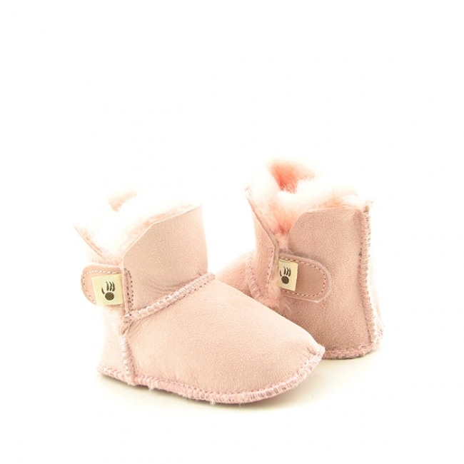 Bearpaw Toddler 'Cottonwood' Light Pink Boots Shoes