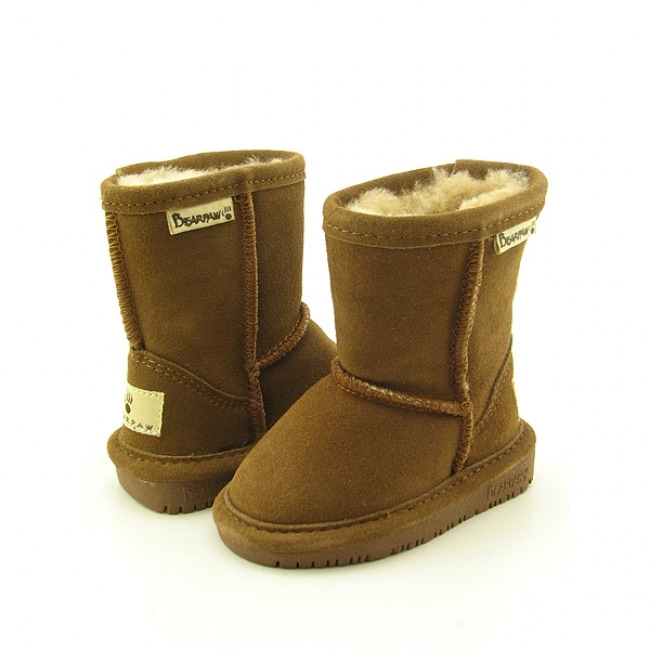 Bearpaw Emma Infant Brown Snow Boots