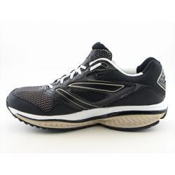 Skechers Shape-Ups Men's 'Defiance-Dare' Black/Gold Running Shoes - Thumbnail 1