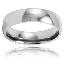 Polished Stainless Steel 6mm Ring