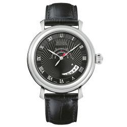 Bulova Accutron Men's 'Amerigo' Leather Strap Automatic Watch