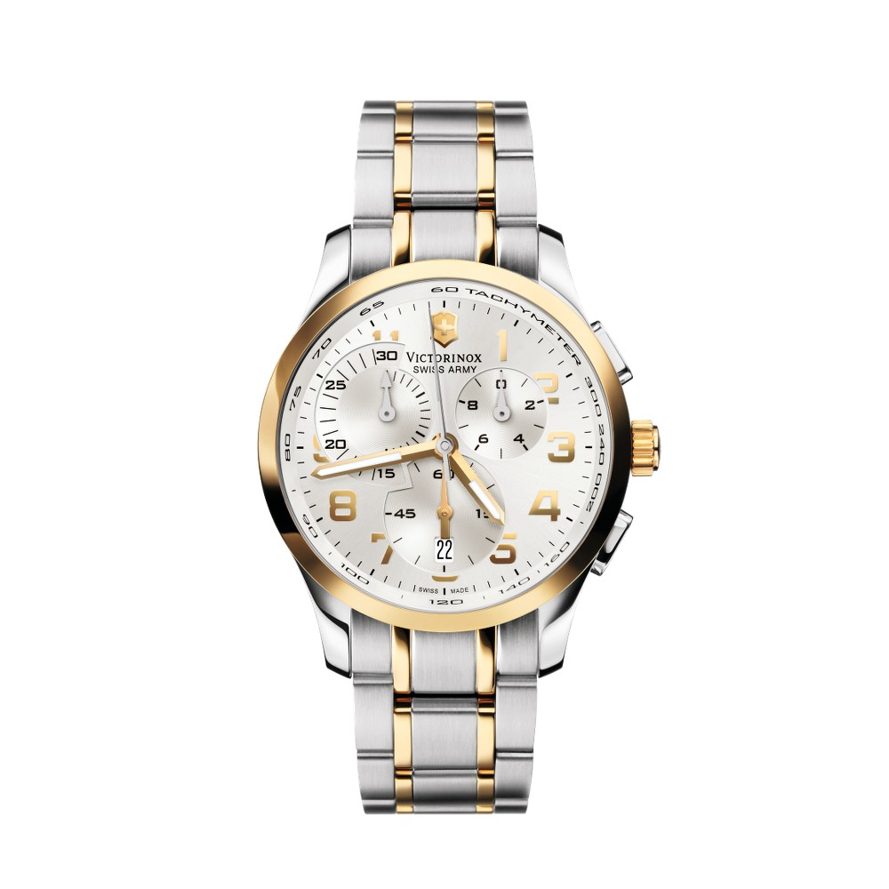 Swiss Army Men's 'Alliance' Chrono Two-tone Watch