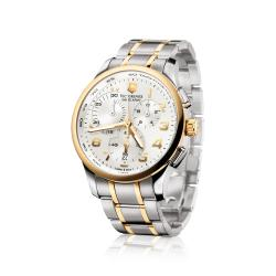 Swiss Army Men's 'Alliance' Chrono Two-tone Watch - Thumbnail 1