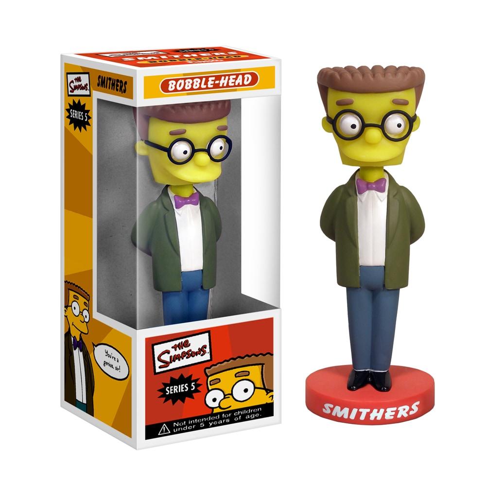 The Simpsons 'Smithers' Wacky Wobbler Bobble Head