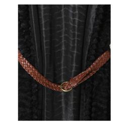 Tabeez Women's  Plush Belted Vest - Thumbnail 2