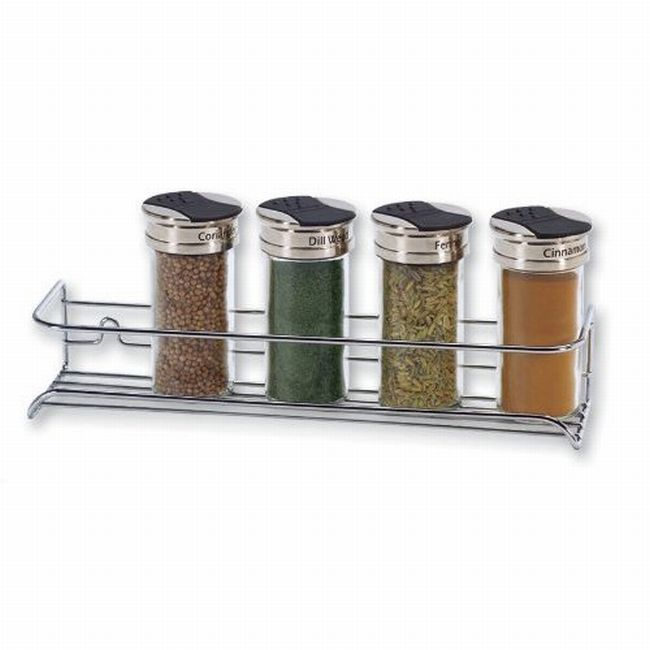 Chrome Spice Shelf