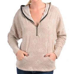 Stanzino Women's Sandy Colored Winter Sweater - Thumbnail 1