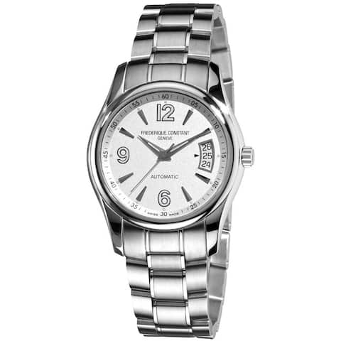 Frederique Constant Men's 'Junior Automatic' Stainless Steel Watch - Silver