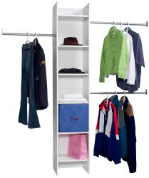 FlexHOME Closet Organizer Tower and Rods