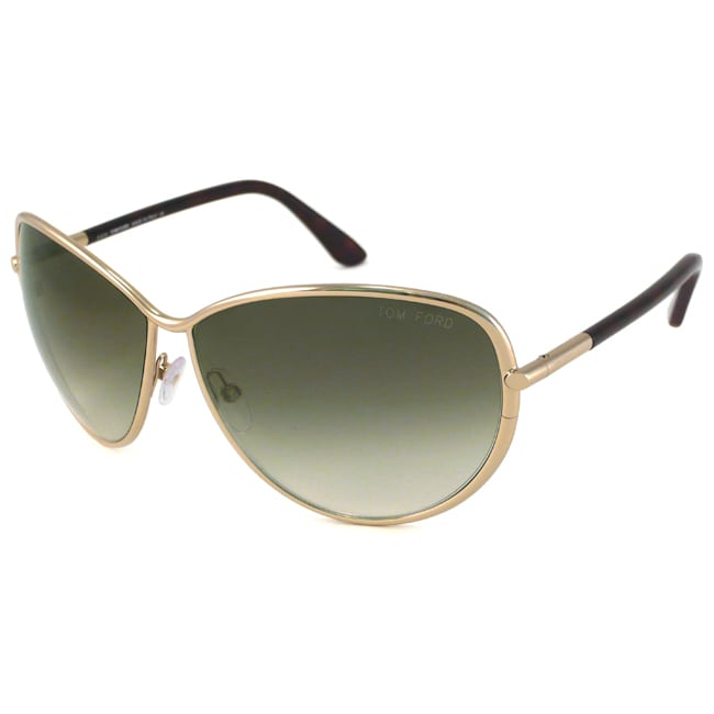 Tom Ford 'Francesca TF0181' Women's Aviator Sunglasses