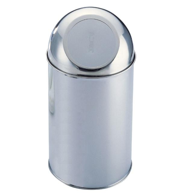 Organize It All Stainless Steel Medium Trashcan