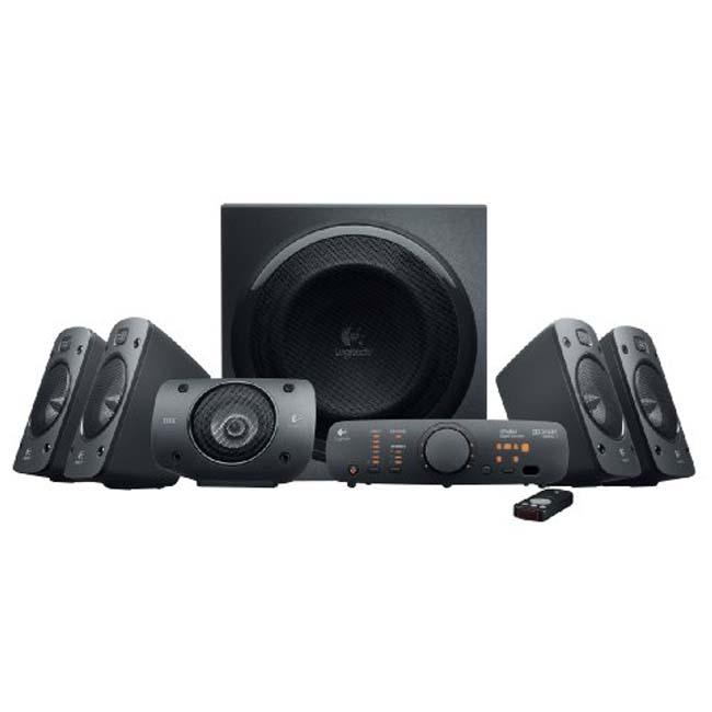 Logitech Z906 5.1 Channel THX-Certified Surround Sound Speaker System (Refurbished)