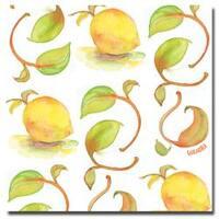 Wendra, 'Lemons' Canvas Art