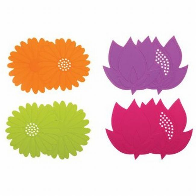 Silicone Dual Purpose Flower Sink Strainer and Drain Stopper