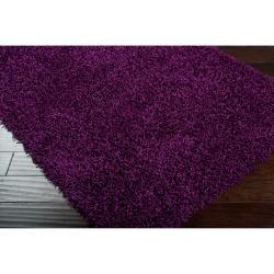 Expertly Woven Teton Super Soft Shag Rug (5' x 8') - Thumbnail 1