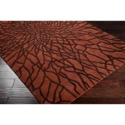 Hand-tufted Mansfield New Zealand Wool Rug (8' x 11') - Thumbnail 1