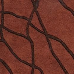 Hand-tufted Mansfield New Zealand Wool Rug (8' x 11') - Thumbnail 2