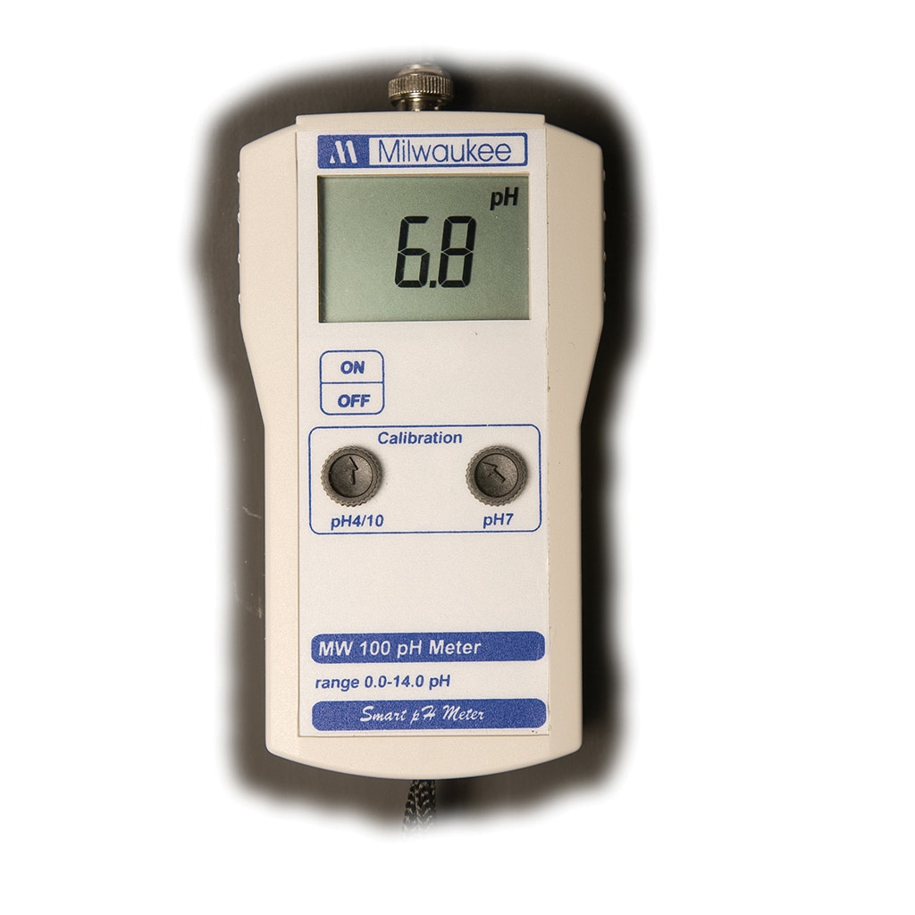 Milwaukee MW100 Ph Meter With 2 Point Manual Calibration ...