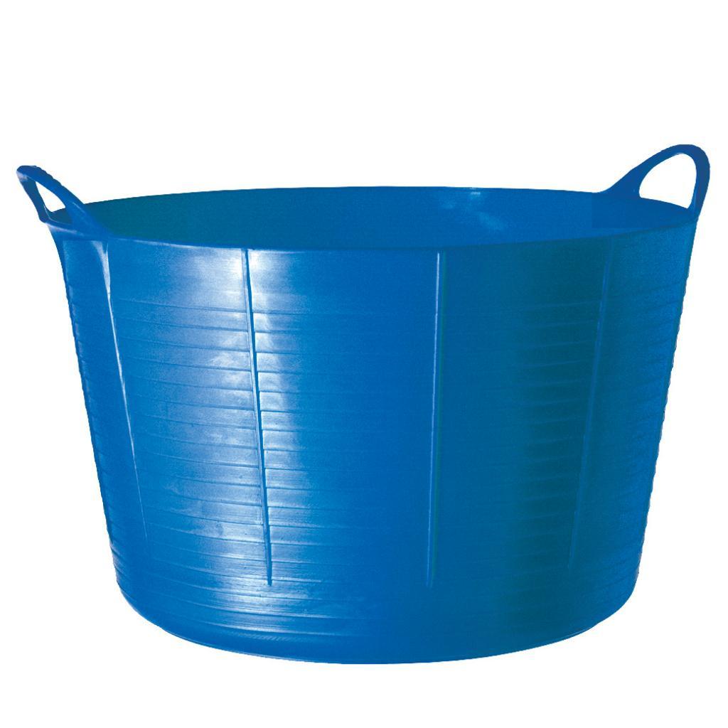 Shop TubTrugs X-Large Blue Plastic 75-liter Flex Tub - Free Shipping ...