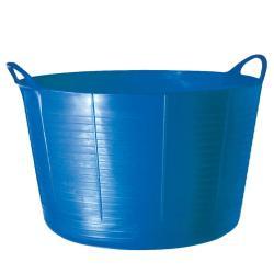 TubTrugs X-Large Blue Plastic 75-liter Flex Tub