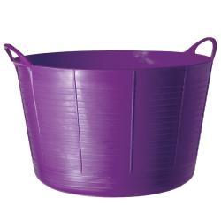 TubTrugs X-Large Purple Plastic 75-liter Flex Tub