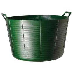 TubTrugs X-Large Green Plastic 75-liter Flex Tub