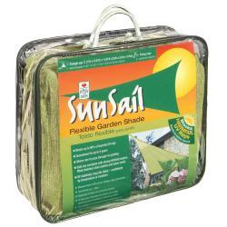 Easy Gardener Sun Sail Triangle Sun Shade Beige