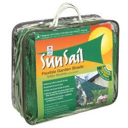 Easy Gardener Sun Sail Triangle Sun Shade Green