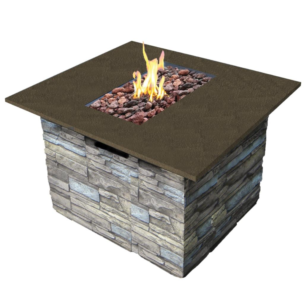 Garden Decor Newcastle: Bond 65045 Newcastle Fire Table With Cover