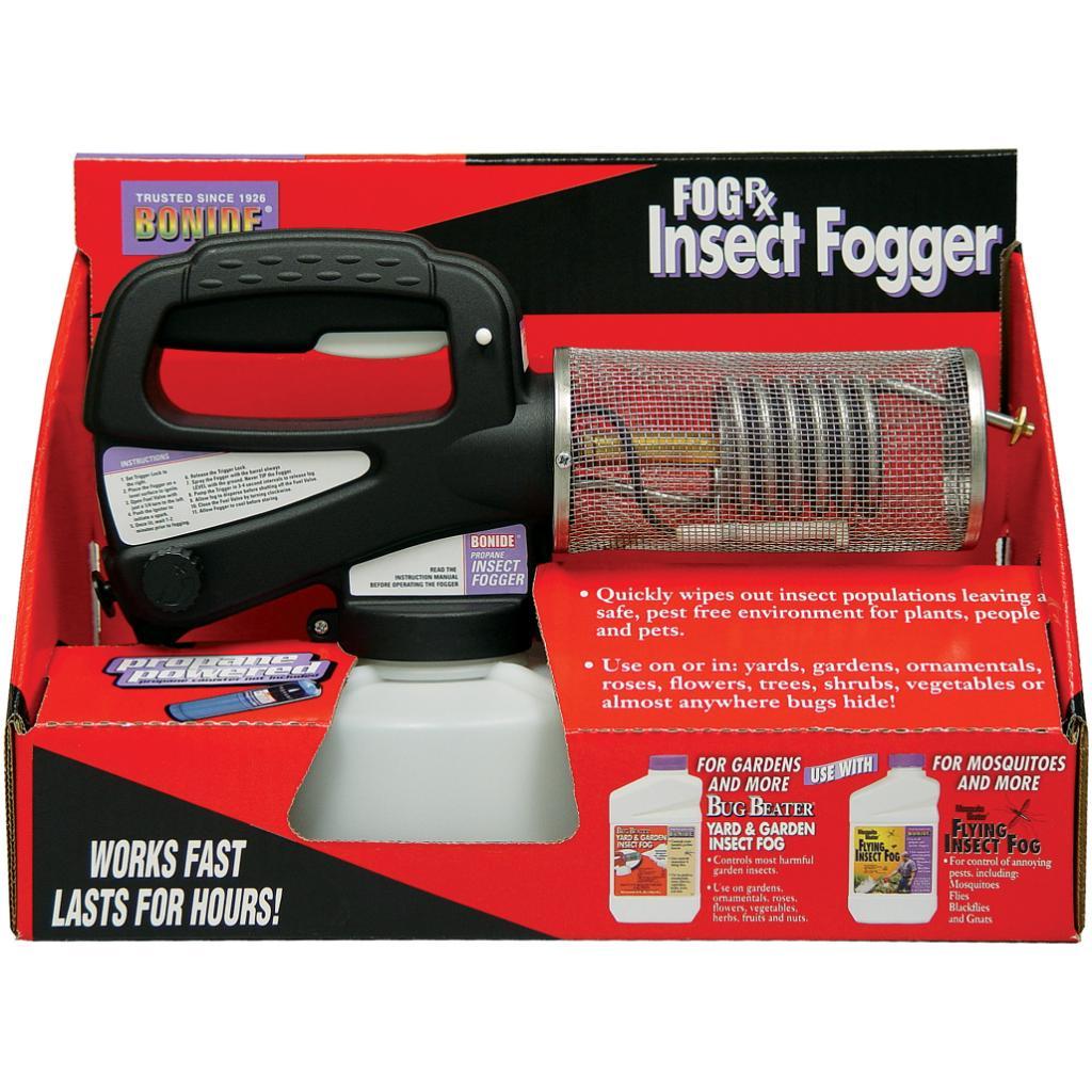 Bonide Fog-Rx Propane Insect Fogger, Black (Plastic)