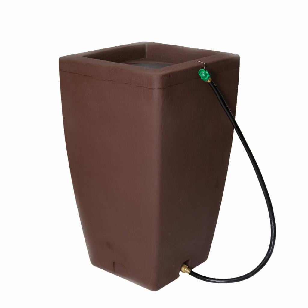 Shop Algreen Madison Fountain 49 Gallon And Rain Barrel