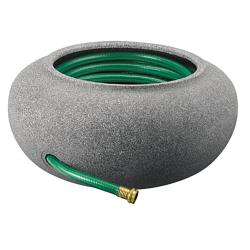 Garden Hose Pot Black Granite