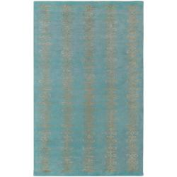 Hand-tufted Lorient Geometric Pattern Wool Rug (9' x 13')