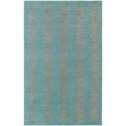 Hand-tufted Lorient Geometric Pattern Wool Rug (9' x 13')
