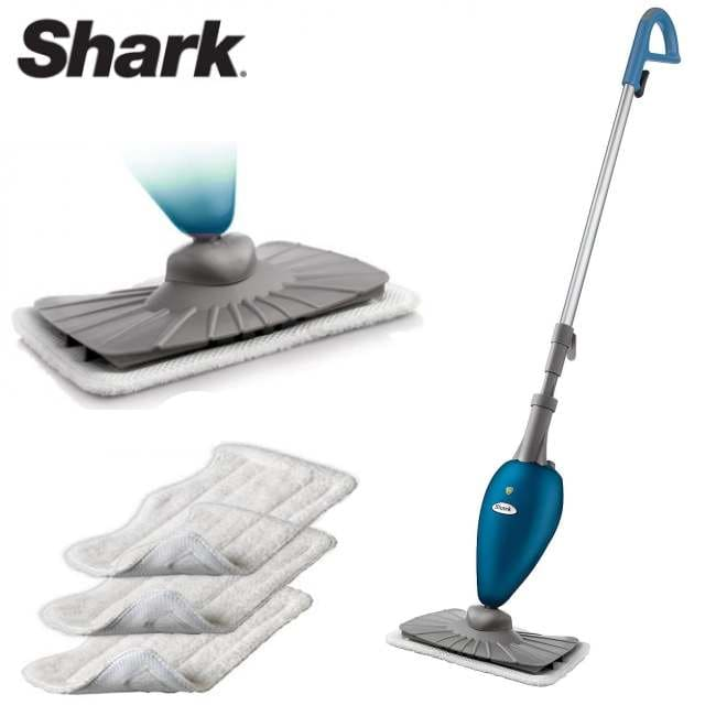 shark s3202 deluxe steam mop hard surface cleaner refurbished
