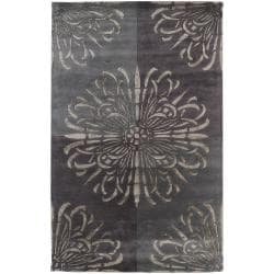 Hand-tufted Beaconsfield New Zealand Wool Rug (5' x 8')