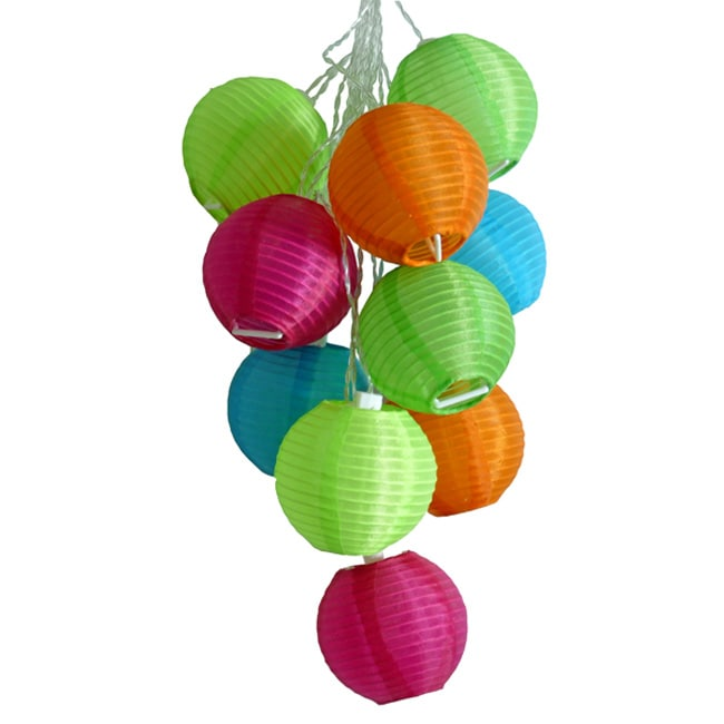 Tropical Fruit Solar String Lights Free Shipping On