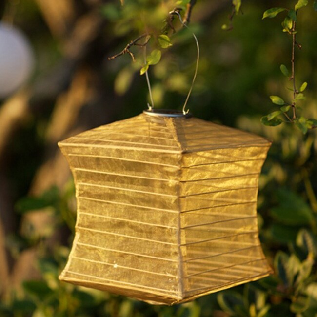 Allsop Bronze Pagoda Solar Lantern (Stainless Steel)