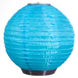 Blue Solar-powered Soji Lantern