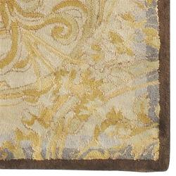 Hand-tufted Lechlade New Zealand Wool Rug (5' x 8') - Thumbnail 1