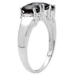 Malaika Sterling Silver Smokey Quartz Ring - Thumbnail 1