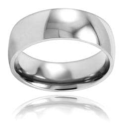 Stainless Steel Polished Wedding Band
