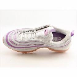 Nike Women's Air Max '97 White/ Grape Shock Running Shoes (Size 10)