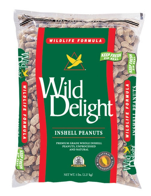 Wild Delight Inshell Peanuts 13-pound