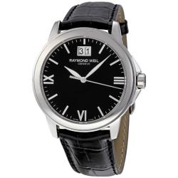 Raymond Weil Men's Tradition Black Dial Watch