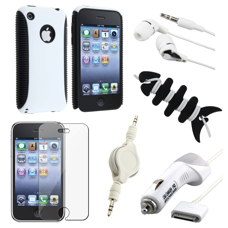 Case/ LCD Protector/ Charger/ Headset/ Cable for Apple iPhone 3GS