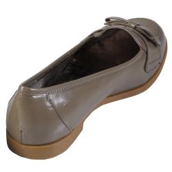 Journee Collection Women's 'Uniform-02' Patent Bow Accent Loafers - Thumbnail 1